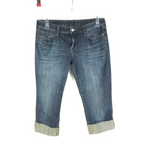Lucky Brand Jeans Lola Straight Cropped Size 12